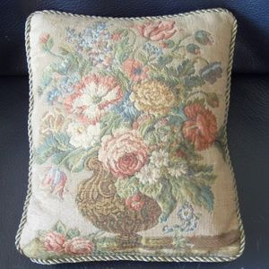 Other - Floral Tapestry Pillow